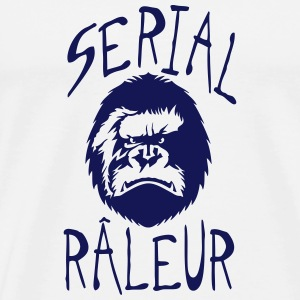 serial raleur citation gorille feroce me Vêtements de sport - T-shirt Premium Homme