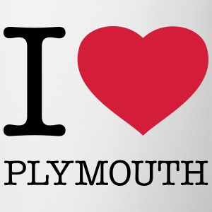 I LOVE PLYMOUTH - Kubek