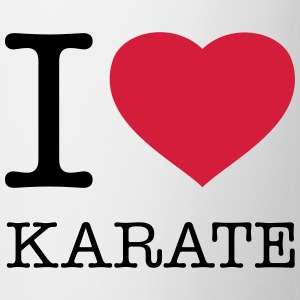 I LOVE KARATE - Mugg