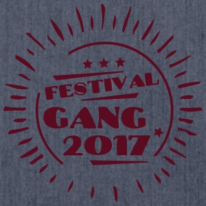 Festival Gang 2017 T-Shirts - Schultertasche aus Recycling-Material