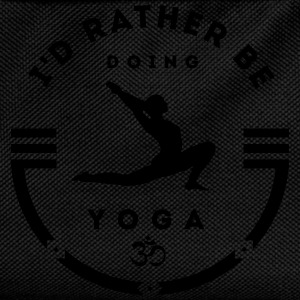 I'd rather be doing yoga T-shirts - Rugzak voor kinderen
