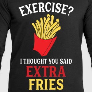 Exercise Extra Fries T-Shirts - Men's Sweatshirt by Stanley & Stella