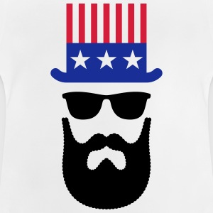 American Hipster (Beard / Bearded) Shirts - Baby T-Shirt