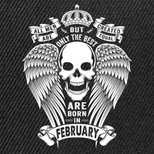 Only The Best Are Born In February T-Shirts - Snapback Cap