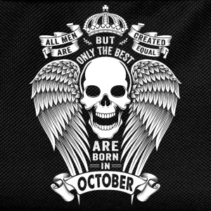 Only The Best Are Born In October T-Shirts - Kids' Backpack