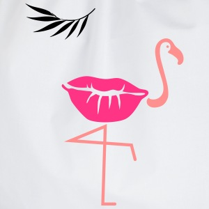 flamingo kiss - Turnbeutel