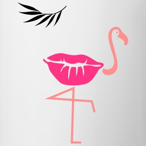 flamingo kiss - Tasse