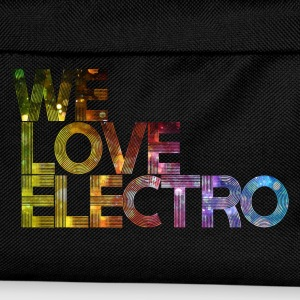 we love electro 01 Tee shirts - Sac à dos Enfant