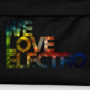 we love electro 03 Tee shirts - Sac à dos Enfant