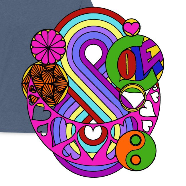 Colour Love Mandala