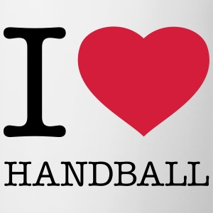 I LOVE HANDBALL - Mugg
