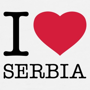 I LOVE SERBIA - Men's Premium T-Shirt