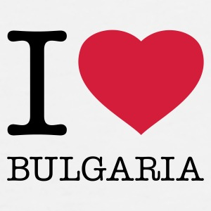 I LOVE BULGARIA - Men's Premium T-Shirt