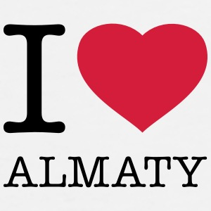 I LOVE ALMATY - Men's Premium T-Shirt