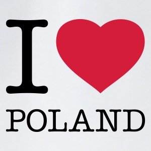 I LOVE POLAND - Drawstring Bag