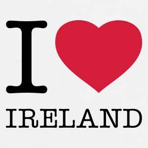 I LOVE IRELAND - Premium-T-shirt herr