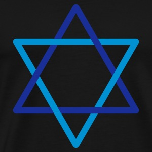 Black Star of David Bags  - Men's Premium T-Shirt