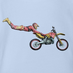 motocross freestyle Tee shirts - Body bébé bio manches courtes