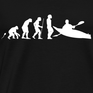 Kanu Kajak Evolution Fun Shirt Baby Bodys - Männer Premium T-Shirt