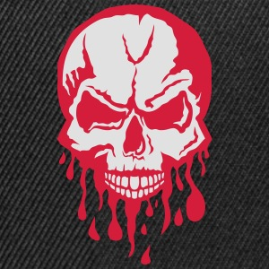 blood task drop skull 280) T-Shirts - Snapback Cap
