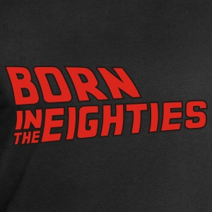 Schwarz born_in_the_eighties_2C T-Shirts - Männer Sweatshirt von Stanley & Stella