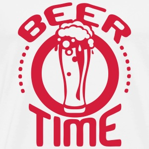 beer time citation alcool humour biere  Sweat-shirts - T-shirt Premium Homme