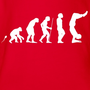 Yoga Skills Evolution Fun Shirt Langarmshirts - Baby Bio-Kurzarm-Body