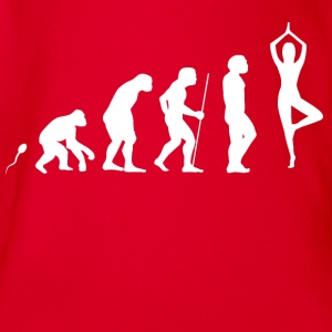 Yoga Evolution Fun Shirt Langarmshirts - Baby Bio-Kurzarm-Body