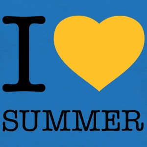 I LOVE SUMMER - Männer T-Shirt