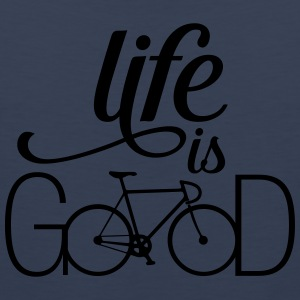 Life Is....Bicycle Love T-Shirts - Männer Premium Tank Top
