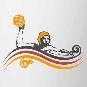 Wit waterpolo_new_v3 T-shirts - Mok