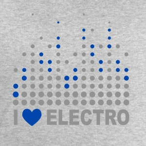 I love electro Shirts - Men's Sweatshirt by Stanley & Stella