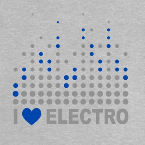 I love electro T-shirts - Baby-T-shirt