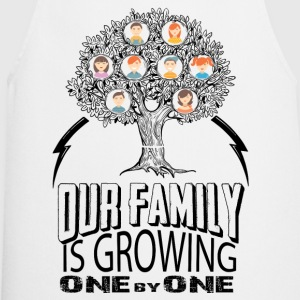 Our Family Is Growing One By One  T-Shirts - Cooking Apron