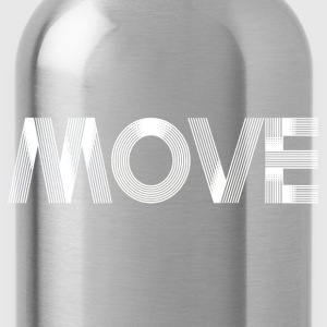 Move - white T-Shirts - Water Bottle