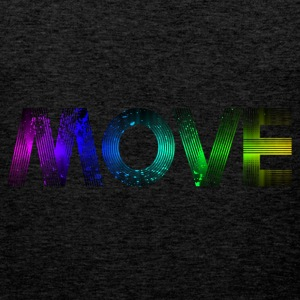Move - rainbow T-Shirts - Men's Premium Tank Top