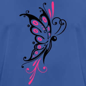 Big filigree butterfly, wings, girlie Tattoo style Bags & Backpacks - Men's Breathable T-Shirt