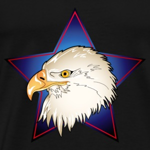 USA Adler Eagle Head Tops - Männer Premium T-Shirt