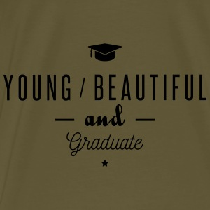 young and graduate Bags & Backpacks - Men's Premium T-Shirt