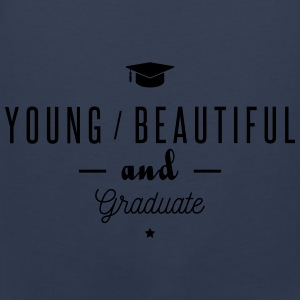 young and graduate Sudaderas - Tank top premium hombre