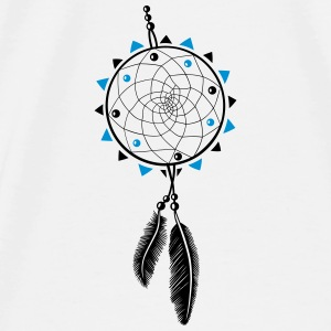 Dreamcatcher with sun and two feathers Other - Men's Premium T-Shirt