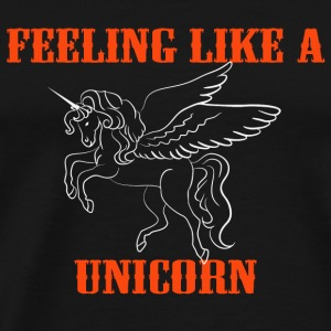 Feeling like a unicorn Sports wear - Men's Premium T-Shirt