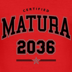 Certified Matura 2036.svg Baby Bodys - Männer Slim Fit T-Shirt