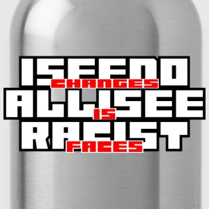 Racist Faces T-shirts - Drikkeflaske
