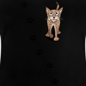 Luchs mit Spur T-Shirts - Baby T-Shirt