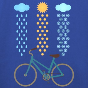 Bicycle All Weather Cyclist T-Shirts - Kinder Premium Hoodie