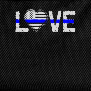 love - Blue Line Shirts - Kids' Backpack