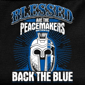 Peacemaker - Blue Line - EN Hoodies & Sweatshirts - Kids' Backpack