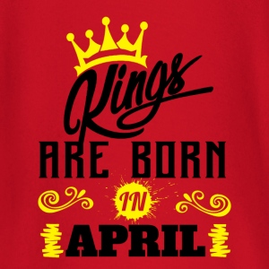 Kings Are Born In April T-Shirts - Baby Long Sleeve T-Shirt