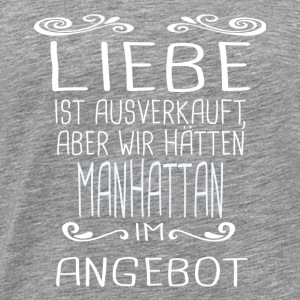 MANHATTAN Tops - Männer Premium T-Shirt